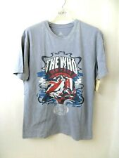 NWT The Who T Band T Shirt Rock and Roll Hall of Fame 1990 Gray Small S
