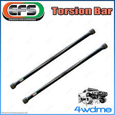 "Holden Rodeo R7 R9 4WD EFS Front Torsion Bars Increased Rate 2"" 0-40mm Lift"