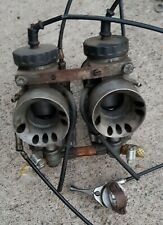 TRIUMPH BONNEVILLE T140D CARBURETORS,BARN FIND, SHED FIND, PROJECT