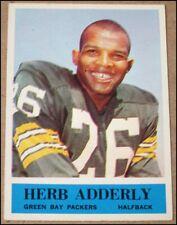 1964 Philadelphia Gum Herb Adderley Football Card #71 Green Bay Packers Orig. EX