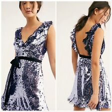 Free People Embellished Sequin Siren Dress In Size 4. Nwt