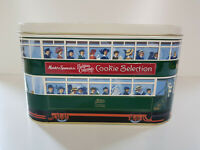 MARKS & SPENCER Vintage Tram Tin Collectable Biscuit Cookie EXCELLENT CONDITION