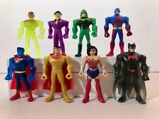 NEW Justice League Action Mighty Minis Series 2 complete set of 8 ATOM! Batman