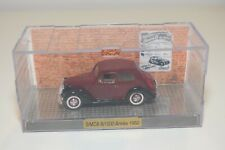 FF 1:43 NOREV SIMCA 8/1200 1950 MAROON BLACK MINT BOXED