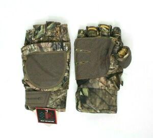 MOSSY OAK Pop Top Gloves Men Size L/XL Camo Hunting
