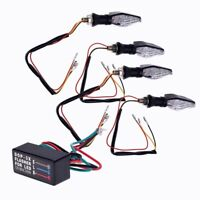 4 X Bombilla Luz Indicador 12 LED 3528SMD Intermitente Universal para Moto L9J1