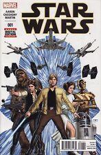 STAR WARS #1 Marvel Comics Boba Fett Darth Vader RARE MISPRINT SIXTH PRINTING! 6
