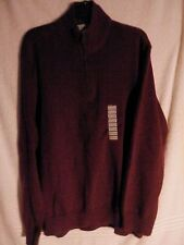 NWT Sun River Clothing Co. Men's 1/4 Zip Sweater/ Size XXL