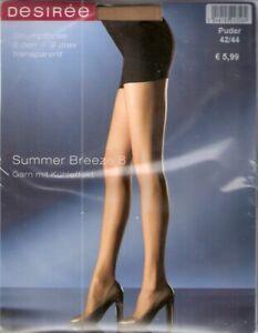 Strumpfhose SUMMER BREEZE 8 von DESIREE Gr. I - IV puder, make up