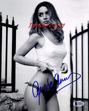 ANA DE ARMAS AUTOGRAPHED PICTURE SIGNED 8X10 PHOTO REPRINT