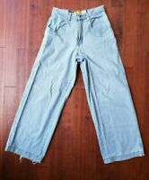 90s Vintage JNCO Jeans 33/34 Twin Cannon Vintage USA Made Denim Wide Pants Baggy