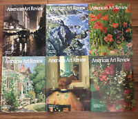 Lot of 6 2010 Issues American Art Review Magazines Feb April Aug June Oct Dec