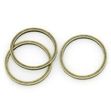 500pcs bronze-tone jump ring h2372