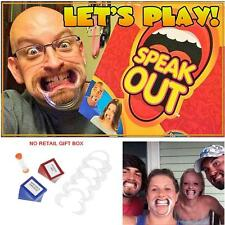 Funny Speak Out Board Game Mouthguard Challenge Game Christmas Gift NO Gift  BOX