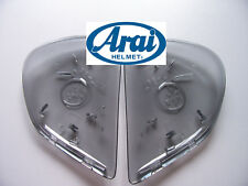 Arai Helm Side Pod Seitendeckel durchsichtig etwas getönt für viele ARAI Helme