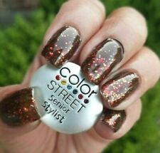 Thank Heavens For Stylists, Color Street Nail Strip Retired Thanksgiving Glitter