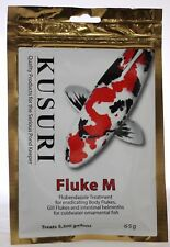 KUSURI FLUKE-M 65g. Gill and Body Fluke Treatment. Koi Pond Fish, Discus