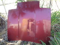 1986 NISSAN 300ZX NON-TURBO (2+2) FRONT HOOD - RED ( FREE LOCAL PICK UP) OEM
