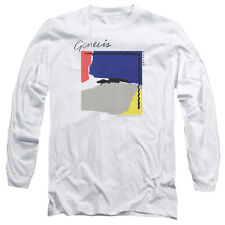 GENESIS ABACAB Licensed Adult Men's Long Sleeve Graphic Band Tee Shirt SM-3XL
