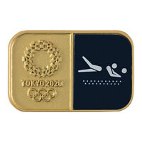 Tokyo Olympics 2020 Olympic Sport Pictogram Beach Volleyball Pin Badge JAPAN