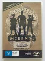DVD - CHIEFS - Cult Full Mini Series Television Show - over 3 hours - FREE POST