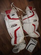 DR HOCKEY GOALIE PADS & BOTH CATCHER & BLOCKER GLOVES MATCH SET PRO QUALITY 32""