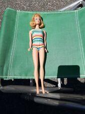 Vintage Red Hair Midge Barbie Doll And Ken doll, Japan 1960's