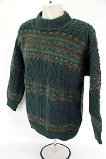 Handknitted McKenzie Country Medium M Wool Sweater New Zeland Fiord Style NWT