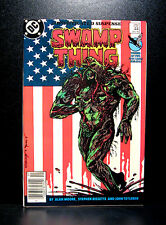 COMICS: DC: Saga of the Swamp Thing #44 (1980s), John Constantine app - RARE