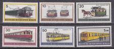 Berlijn - 1971 - Mi. 379-84 (Treinen) - Postfris - BV012