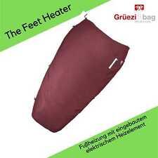Grüezi Bag - The Feet Heater Dark Red - Fußheizung