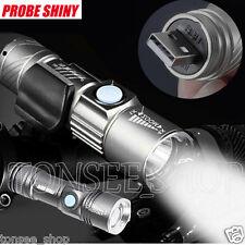Tragbar Einstellbare LED Taschenlampe  Zoom 3000LM MINI USB Aufladbare Stablampe