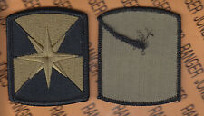 US Army 347th Support Brigade OCP Hook & Loop Scorpion uniform patch m/e