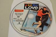 A Lot Like Love (DVD, 2005, Widescreen)Disc Only Free Shipping