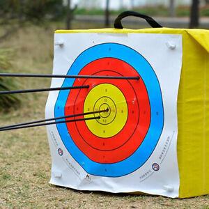 10pcs Archery Target Paper 40x40cm Durable Arrow Train Target Practice Shooting