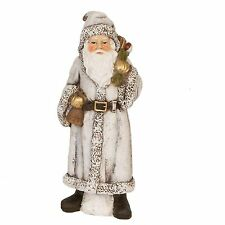 Clayre Eef Decoración De La Navidad Papá Noel Vinilo Duro 18cm