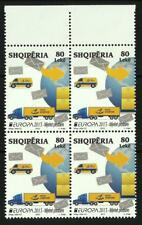 New ListingAlbania 2013 - Europe 2013 - Postal means - a value of four Mnh