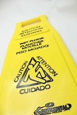 Continental Commercial Products Caution Wet Floor Sign 26 119 6 Pack