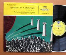 LPM 18334 Tchaikovsky Symphony 6 Pathetique Mravinsky Leningrad TULIP Mono VG/VG