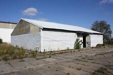 gebrauchte Lagerhalle Stahlhalle Trapezblechhalle 15mx20m 300qm Leichtbauhalle