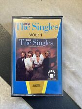ABBA the Singles First Ten Years Volume 1 Cassette Tape