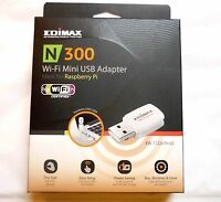 WLAN Stick 300Mbit Mini Wireless Lan USB 2.0 Adapter EDIMAX EW-7722UTNV2 Win 10