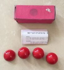 (H)Rare Vintage Wooden Magic Trick Multiplying Balls By Davenports