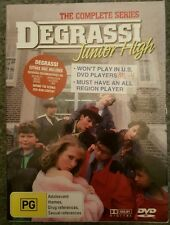 THE COMPLETE SERIES DEGRASSI JUNIOR HIGH PAL REGION 4 DVD