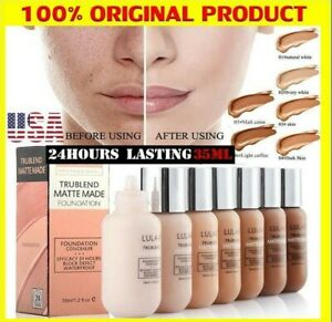 Foundation Liquid Longlasting Makeup Concealer Matte Moisturizing Foundation/lot
