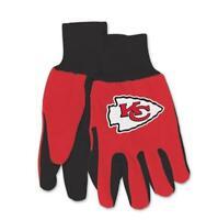 Kansas City Chiefs Handschuhe ,Gloves,gesticktes Logo,NFL Football,NEU !