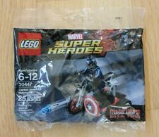 New ListingLego Marvel 30447 Super Heroes Captain America Motorcycle Polybag New