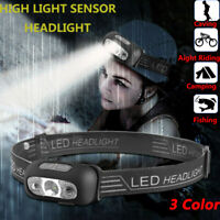 USB Rechargeable LED Headlamp Headlight Flashlight Head Lamp Torch Waterproof