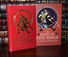 Book of Five Rings Strategy Samurai by Musashi New Hardcover Deluxe in Slipcase