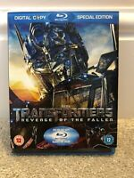 Transformers - Revenge Of The Fallen (Blu-ray, 2009, 3-Disc Set) Special Edition